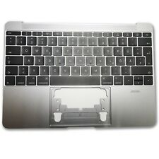 """Apple MacBook Retina 12 """" A1534 2015 GRIGIO spazion Topcase con tastiera e"""