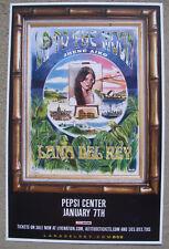 LANA DEL REY LA To The Moon Tour 2017 Pepsi Center - Denver 11x17 Concert Poster