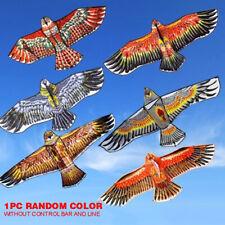 1PCS 1.1M Aigle Forme Cerf-Volant Animal Jouet Extérieur Kite Flying Enfants