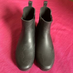 Hunter Textured Chelsea Boots Size UK 5