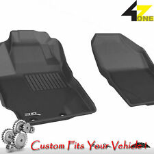 3D Fits 2012-2015 Toyota Yaris G3AC22525 Black Waterproof Front Car Parts For Sa