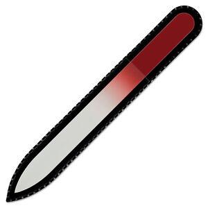 Mont Bleu Best Glass Nail File - Premium Fingernail File for Manicure Tool Kit