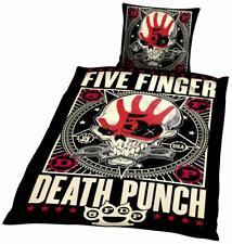 Five Finger Death Punch Bettwäsche Punchagram ca:80X80/135X200 CM NEU TOP