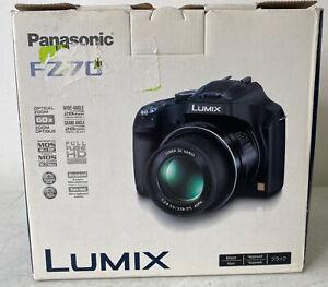 Panasonic LUMIX DMC-FZ70 16.1 MP Digital Camera with 60X Optical Zoom, New Open