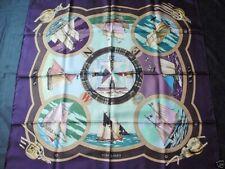 Foulard carré  Hermès  BELLES AMURES  - Loïc Dubigeon  scarf