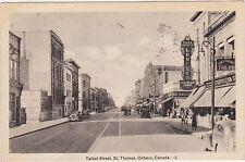 St.Thomas,Ontario,Canada,Talbot Street,Used,1938