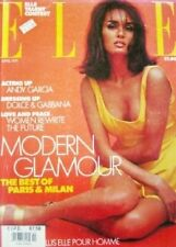 4/91 BRITISH ELLE Gail Elliott Dolce & Gabbana Carlo Mollino Andy Garcia Milan