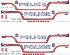 1/18 SCALE KAWARTHA LAKES POLICE CANADA DECALS - FORD CROWN VIC