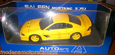 FORD MUSTANG SALEEN S351 COUPE YELLOW by AUTOart 1:18 NEW IN BOX WITH SHELFWARE