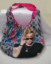 Cody Simpson Here's Cody Tote Bag Purse Pink Blue & Silver *New