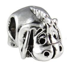 Wholesale 20pcs Donkey Silver European Bracelet Spacer Charm Beads D658