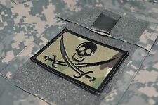 JSOC AMERICAN LEAGUE INFIDEL TALIBAN WHACKER νeΙ©®⚙💀PATCH: CALICO JACK SKULL