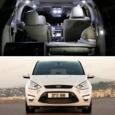 Error Free LED White Light Interior Bulbs Package Deal for Ford S-MAX 2006-2014