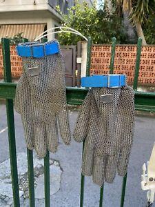 Guanti Da Macellaio(Acciaio)