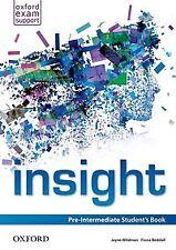 Insight Pre-Intermediate: Students Book. NUEVO. Envío URGENTE. LIBRO DE TEXTO