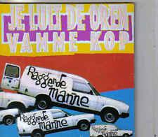 Raggende Manne-Je Lult De Oren Vamme Kop cd single