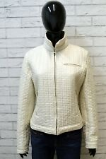 Giubbotto GUESS BY MARCIANO Donna Taglia 46 Cappotto Giacca Bianco Woman Jacket
