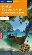 POLYGLOTT REISEFÜHRER Phuket Ko Samui & Krabi 016/17+Landkarte UNGELESEN wie neu