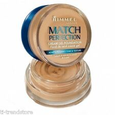 Rimmel Match Perfection Make Up Cream Gel Foundation 300 Sand 18ml