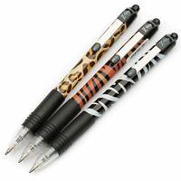 Zebra Z-Grip Funky Animal Print Ballpoint Pens - Assorted 3 Pack