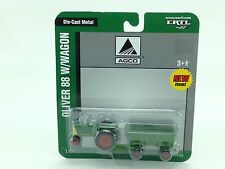 1/64 ERTL AGCO OLIVER 88 & FLAR BOX WAGON SET