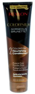 2 X NEW REVLON COLORSILK Gorgeous Brunette Colour Protecting Conditioner 250ml