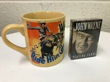 John Wayne Mug and Playing Cards