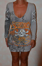bonito vestido gris SMET talla XS NUEVA ETIQUETA