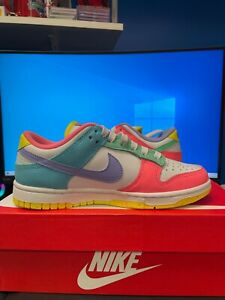 Authentic Nike Dunk Low SE Easter Candy (W) DD1872-100