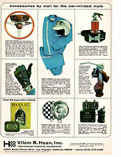 1967 VILEM B HAAN / INTERNATIONAL MOTORING ACCESSORIES - ORIGINAL PRINT AD