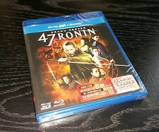 *47 Ronin* Limited Edition 3D Blu-ray Japanese Audio+ 6 PostCards GNXF-1474 Rare