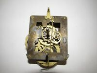 Antique Waterbury Wall Regulator Clock Movement 8-day, time only