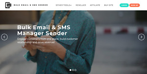 Bulk email and sms sender for 1 month-Send Unlimited SMS / Email