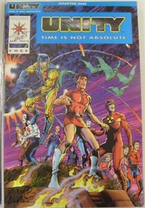 UNITY TIME IS NOT ABSOLUTE 1-18 VALIANT COMIC SET COMPLETE STORY SHOOTER 1992 NM