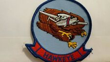 Navy Hawkeye Color Patch. 4 x 4 inches
