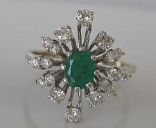 Premiumღ♥ღ Brillant Ring in aus 14kt 585 Gold mit Diamant Smaragd diamond brilli