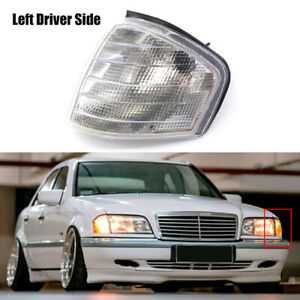 Left Side For Mercedes Benz C220 C230 C280 1994-00 Corner Light Turn Signal Lamp
