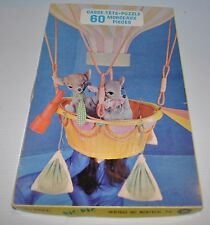 NIC ET PIC vintage PUZZLE Quebec Children Television - Heritage °
