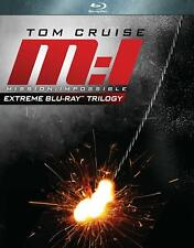 Mission: Impossible Extreme Blu-ray Trilogy (Blu-ray  3-Disc Set) Tom Cruise