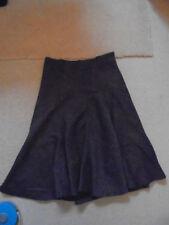 Zara Calf Length Polyester Flippy, Full Skirts for Women