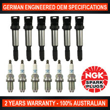 6x Platinum NGK Spark Plugs & 6x Ignition Coils for BWM X3 X5 320 325 330 525