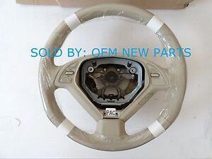 48430-1NM1C Genuine Infiniti EX Leather Steering Wheel BEIGE NEW OEM 484301NM1C