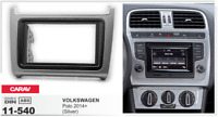 CARAV 11-540 2Din Marco Adaptador de Radio para VOLKSWAGEN Polo 2014+