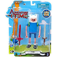 Adventure Time Finn With 2 Swords 5 Inch Action Figure NEW