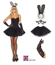 SEXY BUNNY TUTU COSTUME Adult Ladies  Rabbit Fancy Dress Cosplay Easter Lot UK