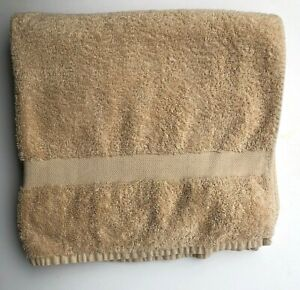 Ralph Lauren Terry Bath Towel Plush Sand Tan 30x54 in 100% Cotton