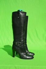 Vintage Ralph Laurent Collection Purple Label knee high boots 9 B used high heel