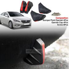 Bumper Diffuser Molding Cover Point Garnish Trim for HYUNDAI 15-17 Sonata LF i45