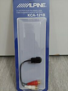 BRAND NEW IN THE PACKAGING GENUINE ORIGINAL ALPINE KCA-121B AINET TO RCA ADAPTER