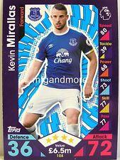 Match ATTAX 2016/17 premier League - #108 Kevin Mirallas-Everton